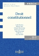 DROIT CONSTITUTIONNEL  17ED  2